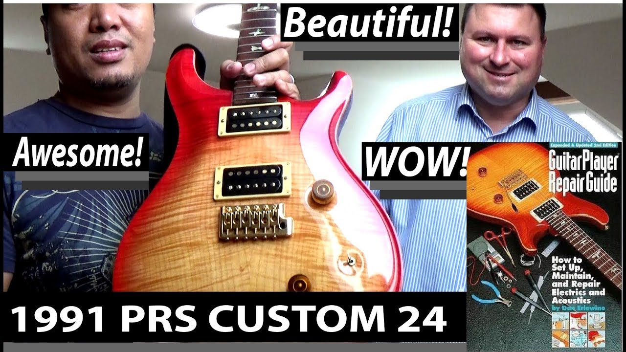 1991 PRS CUSTOM 24 GUITAR With FENDER DELUXE REVERB 64 HAND WIRED