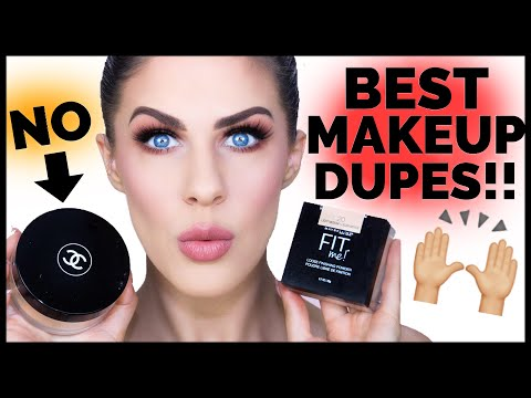 5 AMAZING MAKEUP DUPES YOU NEED!!!