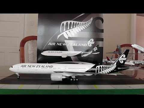 JC Wings 1:200 Air New Zealand 777-300ER Unboxing and Review