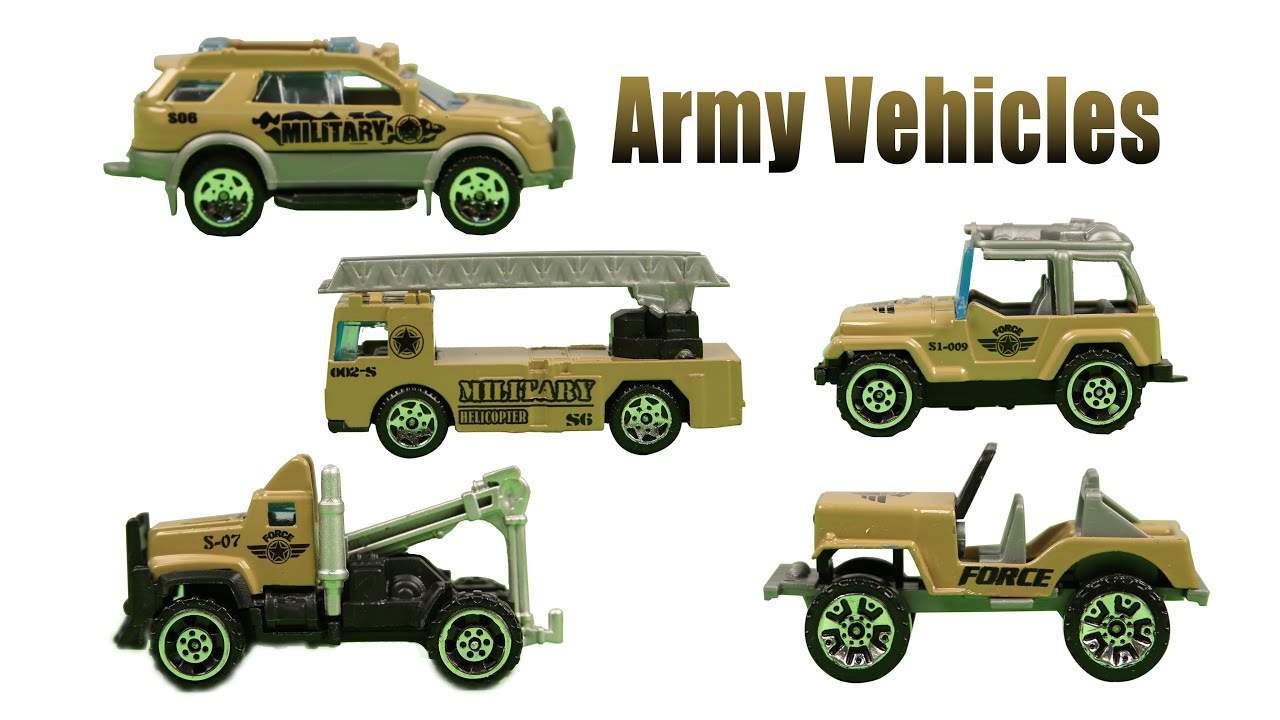 Learn Army Vehicles