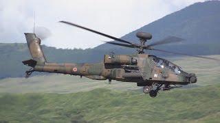 これが30mmチェーンガンの迫力!! / AH-64D