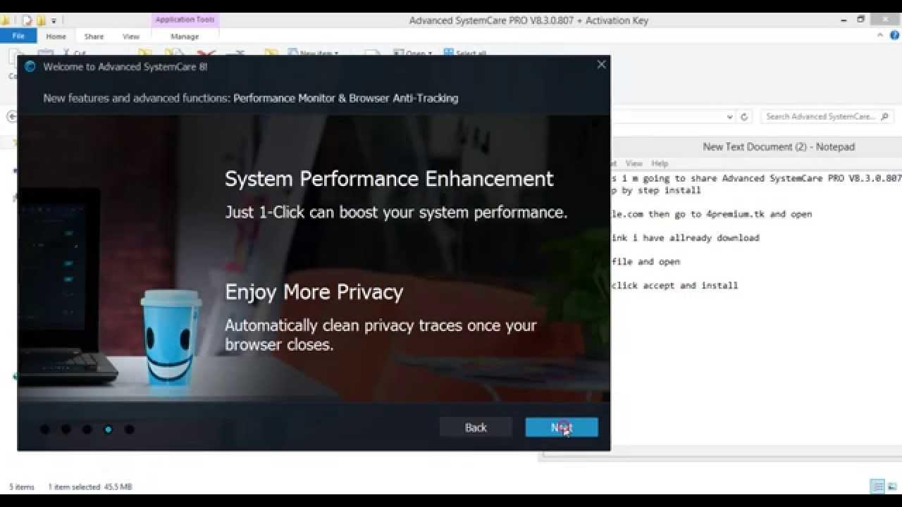 Advanced systemcare pro 8 3 0 807 serial key