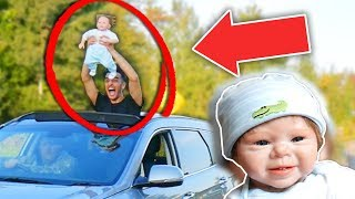 RAISING A BABY FOR A 24 HOURS! *BEING A DAD FOR 24 HOUR CHALLENGE!* FATHER AND SON!