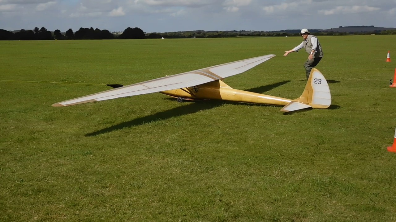 Methods of Launching RC Gliders