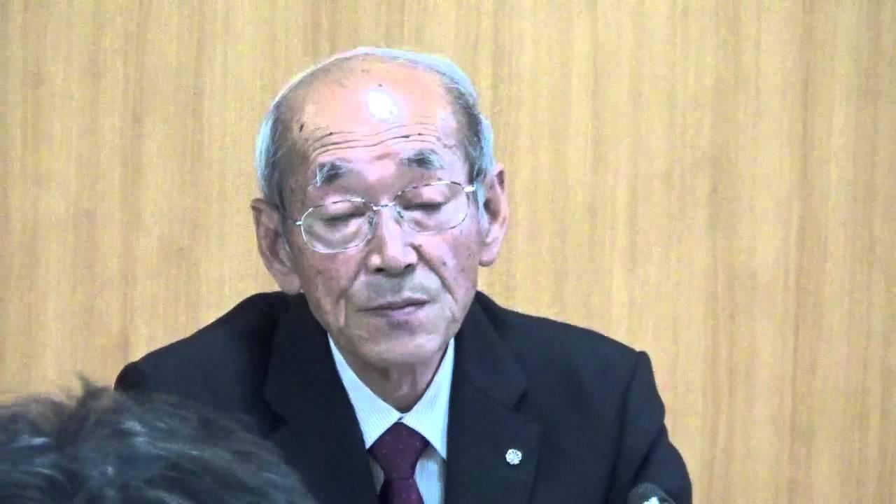 馬場有・浪江町長の会見(ノーカ...
