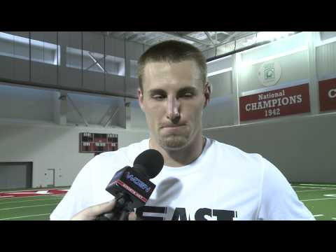 Ohio St. Sr. TE Jeff Heuerman on Media Day