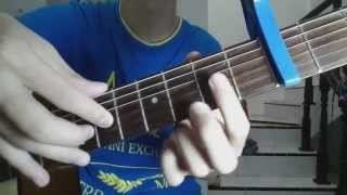[Tabs/tutorial]Taylor Swift - Blank Space Fingerstyle Guitar Lesson/Tutorial