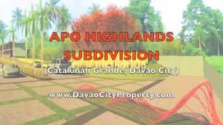 Affordable and Low Cost housing of Apo Highlands Catalunan Grande Subdivision Davao City