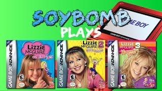 Lizzie McGuire Games (Game Boy Advance) - SoyBomb Plays!