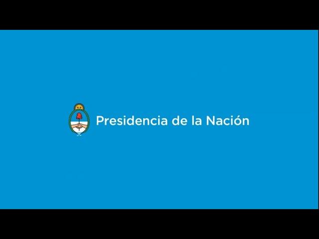 Conferencia de prensa del ministro de Hacienda Hernán Lacunza