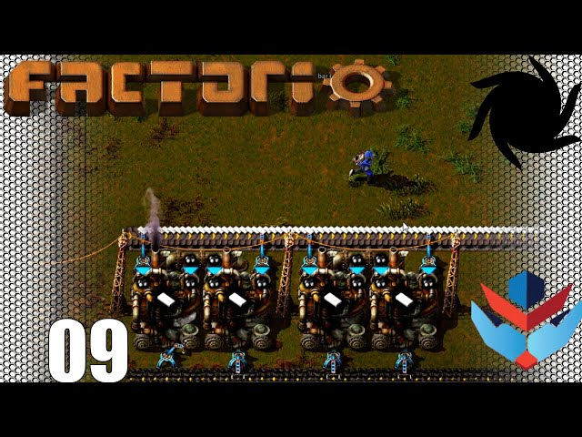 Factorio 1.0 Multiplayer 1K SPM Challenge - 09 - Plastic