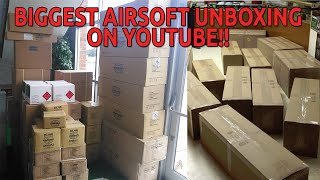 Biggest Airsoft Unboxing on Youtube!