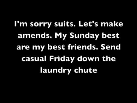 Nothing Suits Me Like A Suit - How i Met Your Mother w/ lyrics