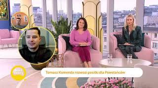 Tomasz Komenda rozpoczął współpracę z braćmi Collins [Dzień Dobry TVN]