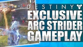 Destiny 2: ARC STRIDER PvP GAMEPLAY! Hunter New Sub Class - Exclusive Gameplay! (New Blade Dancer)