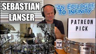 Drum Teacher Reacts: SEBASTIAN LANSER   Obscura – An Epilogue To Infinity (Drum Playthrough)
