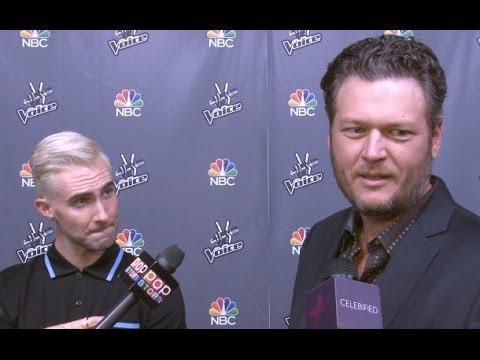 Adam Levine & Blake Shelton on Love for Christina Grimmie & Secrets to Winning!