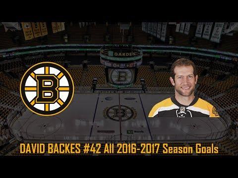 David Backes - NHL Season 2016/2017 (All Goals)