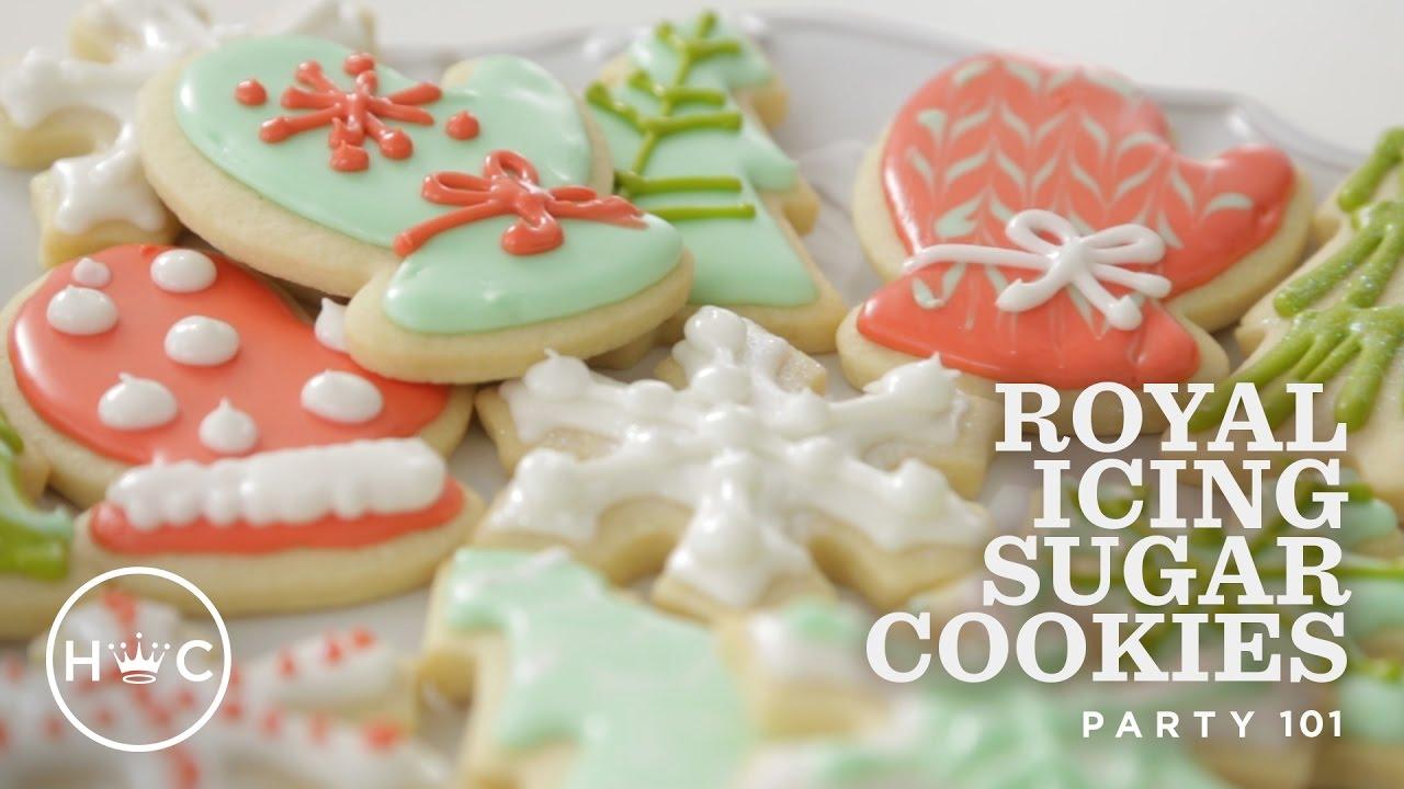 Royal Icing Sugar Cookies Party 101
