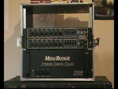 Mesa Boogie Quad Preamp Stereo Simul Class 295 Lead
