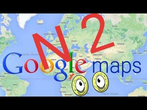 Google Kartadagi Sirlar   #2. Secrets On Google Card #2