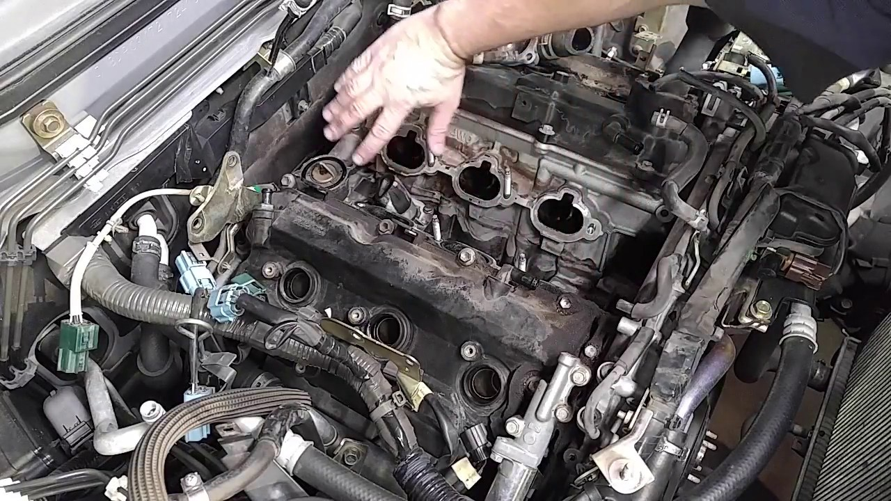 2002 Nissan Pathfinder Hose Failure Youtube
