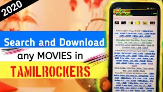 How to search movies in TAMILROCKERS   How to download movies in TELEGRAM  2020   JAAZ TECH  