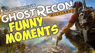 WE SHOT WILLEM DAFOE!?   Ghost Recon: Wildlands Gameplay & Funny Moments