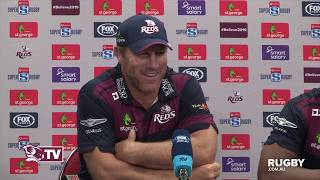 Super Rugby 2019 Round Six: Reds press conference