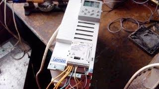 Частотный преобразователь Lenze 8200 Vector.(Ремонт, подключение., 2014-04-16T17:45:23.000Z)