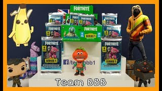 FORTNITE TRADING CARDS part 3! By Panini Full Box search for the Shiny Foil holo gamer cards gaming