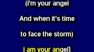 i m your angel in the style of celine dion r kelly karaoke video with lyrics