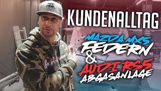 JP Performance - Kundenalltag | Mazda MX5 Federn | Audi RS5 AGA