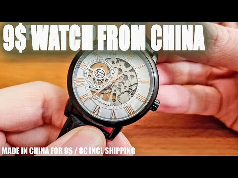 "Cheapest Mechanical Watch ""Forsining"" From EBay China For 9$? Better Than The Casio F-91W?"