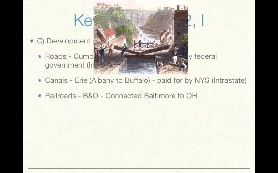 AP US History Curriculum: Period 4 (1800 - 1848