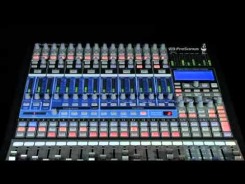 presonus studiolive 16 channel digital mixer youtube. Black Bedroom Furniture Sets. Home Design Ideas