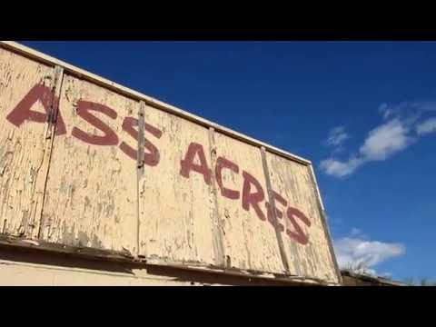 ABANDONED!!! Jack Ass Acres!! New River, AZ!! Someone definitely sleeping there!!! Awesome!!! Mp3