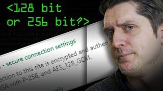 128 Bit or 256 Bit Encryption? - Computerphile