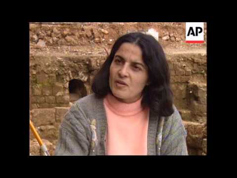 LEBANON: RECONSTRUCTION UNCOVERS ARCHAEOLOGICAL SITES