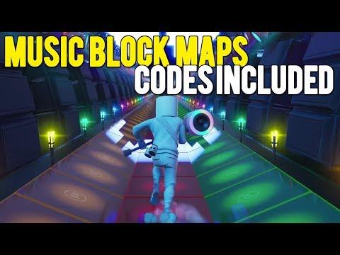TOP 3 *BEST* MUSIC BLOCK MAP CODES In Fortnite Creative!