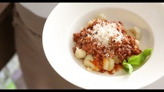 Gnocchi With Quick Meat Sauce | Everyday Food With Sarah Carey