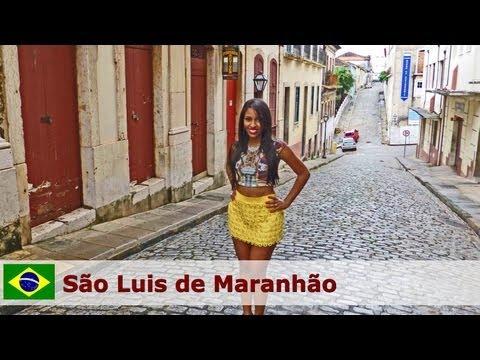 São Luis de Maranhão Brazil - historic center