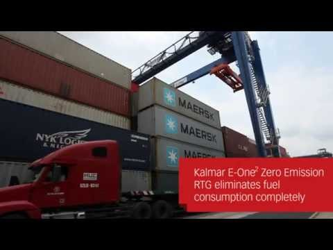 Kalmar E-One2 RTGs (15:31 loop)