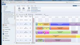 Dynamics NAV Production Scheduling