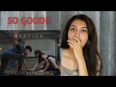 Låpsley - Station - Sean Lew | Kaycee Rice | Tessandra Chavez | Tim Milgram | REACTION
