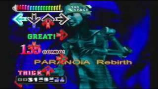 Dance Dance Revolution - Konamix ~ Paranoia Rebirth (Trick)