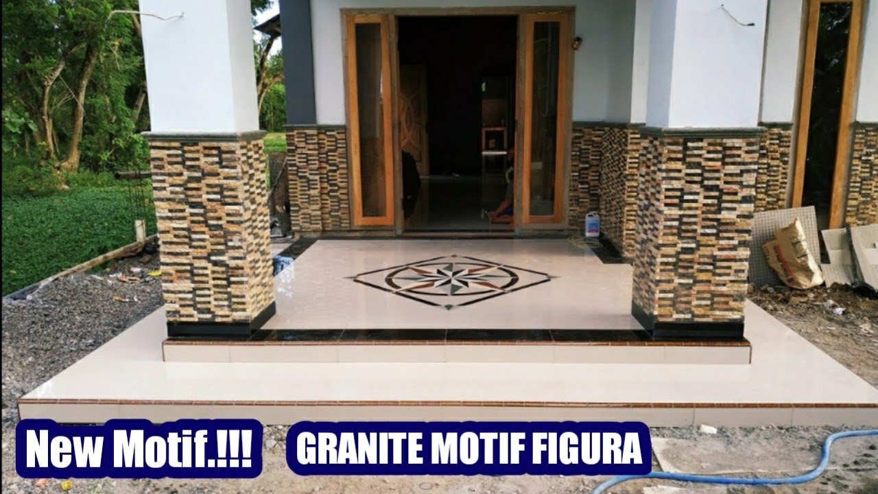Granit Lantai Motif Terbaru Granit Mosaic House Tile Youtube