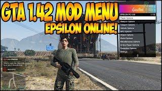 GTA ONLINE 1 42 UNDETECTED MOD MENU Epsilon 1 5 9 Mod Menu