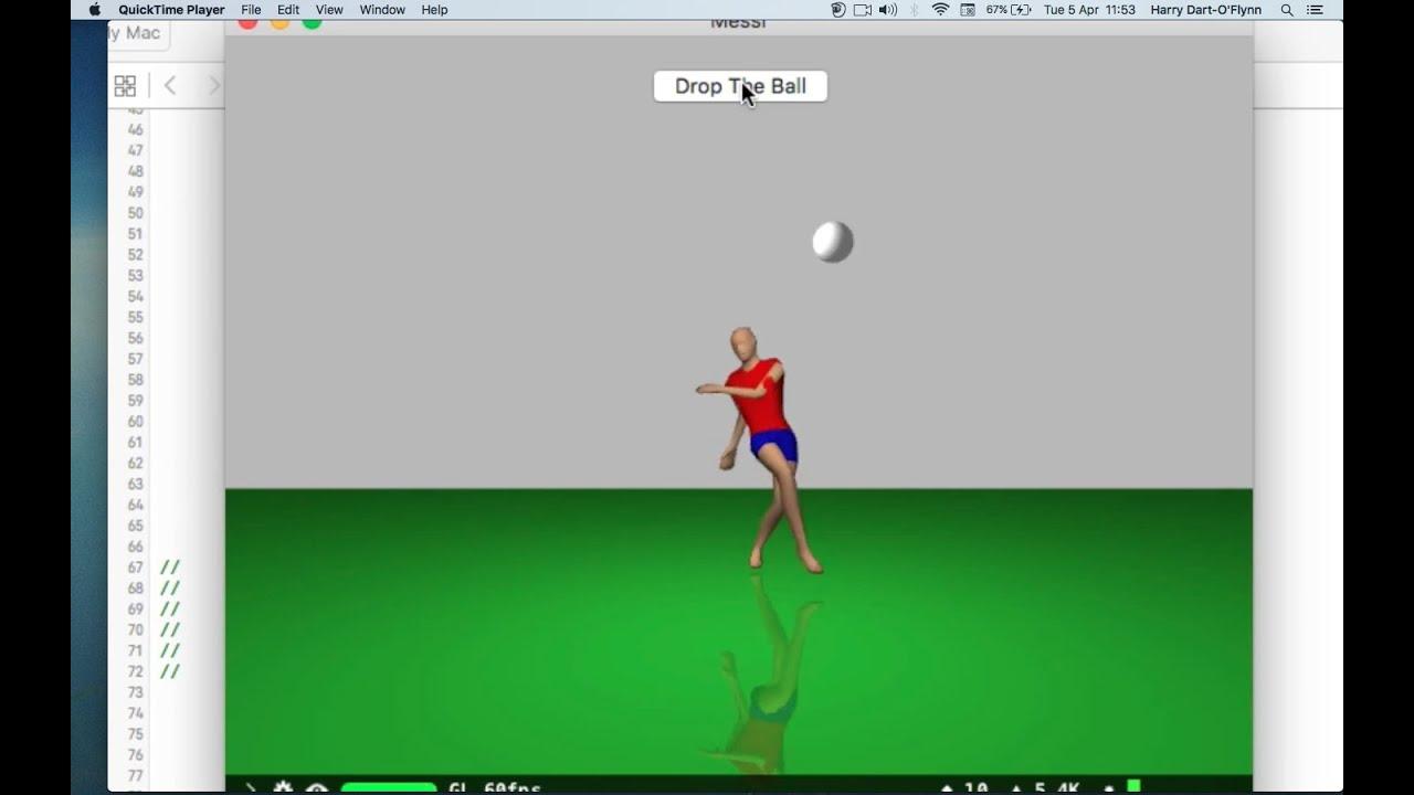 SceneKit Blender Collada 3 Physics