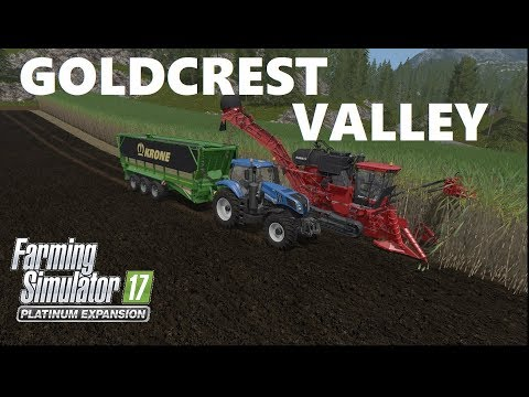 Farming Simulator 17 | PLATINUM EDITION | Sugar Cane Planting And Harvesting in GOLDCREST VALLEY